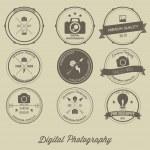 Photography Vintage Creative Logo Concept — Stock Vector #58552779