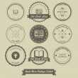Book Store Vintage Label — Stock Vector #58929945
