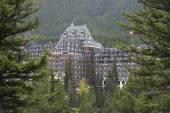 Banff Springs Hotel, Banff, Alberta, Canada — Stock Photo