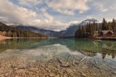 Emerald Lake Reflections — Stock Photo
