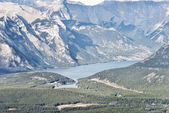 Picturesque Peyto Lake, in Banff National Park. — Stock Photo