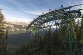 Sulfer Mountain Banff Gondola — Stock Photo