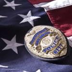 San Diego politie badge — Stockfoto #64163191