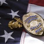 San Diego politie badge — Stockfoto #64163407