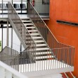 Steel construction of the stair — Stock Photo #52013499