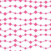 Seamless pink geometric pattern — Stock Vector