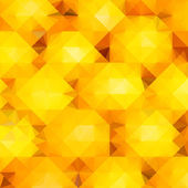 Colorful abstract background with geometric orange pattern — Wektor stockowy