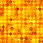 Colorful abstract background with geometric orange pattern — Stockvektor