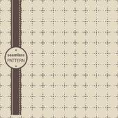Geometrické dlaždice a tečkované čtverečky — Stock vektor