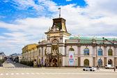 KAZAN, RUSSIA - MAY 08, 2014: National museum of Tatarstan in Kazan, capital of republic Tatarstan in Russia, has been built in beginning of XIX centur — Stock Photo