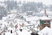 The town of Kulmbach in Franconia, Germany — Stock Photo