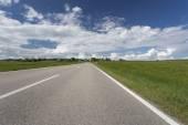 Scenic landscape in Bavaria, Germany, in spring — Stock Photo