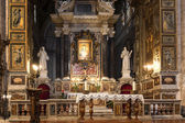 "The church ""Santa maria del popolo"" in Rome, Italy — Stock Photo"
