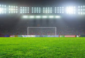 Soccer bal. — Stock Photo
