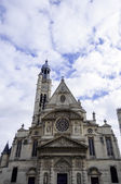 Church of St-Etienne-du-Mont — Stock Photo