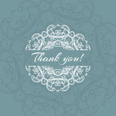 Thank you background — Stock Vector