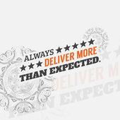 Motivational poster — Stock Vector