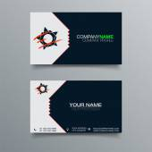 Business Card Background Design — Stock Vector