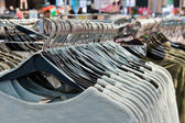 Clothes hangers — Stock Photo