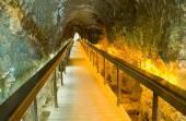 Tunnel at tel-Megiddo — Stok fotoğraf