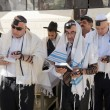 Bar Mitzvah ritual at the Wailing Wall — Stock Photo #62055719