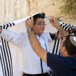 Bar Mitzvah ritual at the Wailing Wall — Stock Photo #62056243
