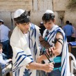 Bar Mitzvah ritual at the Wailing Wall — Stock Photo #62056479
