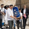 Bar Mitzvah ritual at the Wailing Wall — Stock Photo #62056617