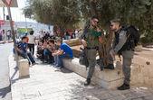Security in Jerusalem — Stock Photo