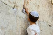 Wailing wall in Jerusalem — Stockfoto
