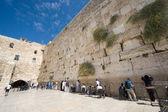 Klagemauer in jerusalem — Stockfoto