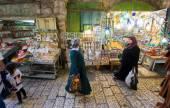 Shopping in Jerusalem — Stock Photo