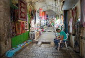 Shops in Jerusalem — Stock Photo