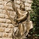 Statue of King David — Stock Photo #63999675