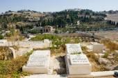 Muslim graveyard — Stock Photo