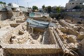 Givati excavations — Stock Photo