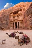 Petra in Jordan — Stock Photo