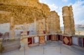 Masada in Israel — Stock Photo