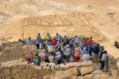 Masada in Israel — Stock Photo