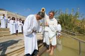 Baptismal ceremonie — Stock Photo