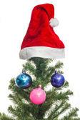 Hatt av jultomten — Stockfoto
