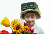 Little soldier — Stock Photo