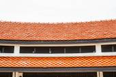 Rote dächer — Stockfoto