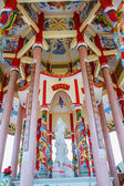 Art in a Chinese temple — Stock fotografie