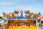Dragons in chinese temple — Fotografia Stock