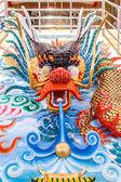 Dragons au temple chinois — Photo