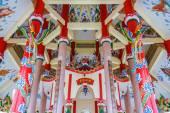 Kunst in einen chinesischen tempel — Stockfoto