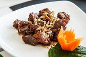 Thailand Food fried garlic — Foto de Stock