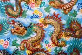 中国の寺院で龍 — ストック写真