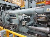 Extrusion aluminium machine — ストック写真